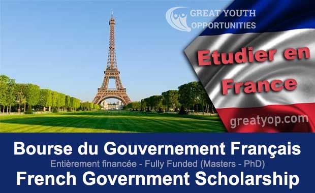 Bourse d'Étude du Gouvernement Français (Eiffel Scholarship)