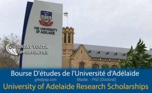 University of Adelaide Research Scholarships