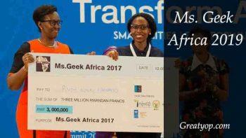 Ms. Geek Africa 2019