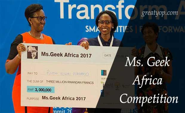 Ms. Geek Africa Competition