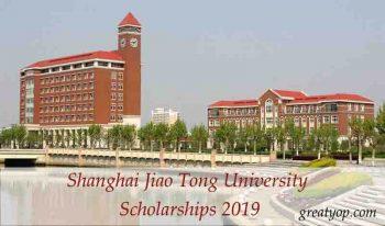 Shanghai Jiao Tong University Scholarships 2019