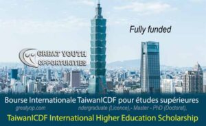TaiwanICDF International Higher Education Scholarship