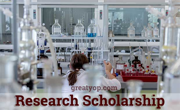 Research Scholarship Opportunity