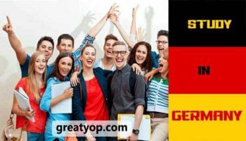 study in germany flag students
