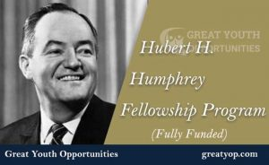 Hubert H Humphrey Fellowship Program