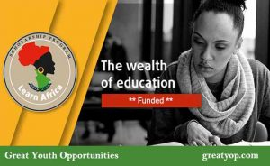 Learn Africa Scholarship Program