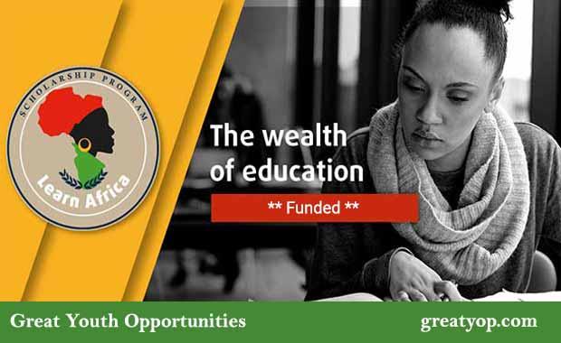 Learn Africa Scholarship Program