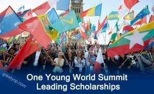 One Young World Summit Leading Scholarships 2020