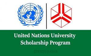 United Nations University Scholarship