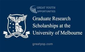 University of Melbourne Scholarships