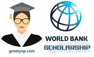 World Bank Scholarship Opportunity