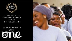 Queen's Commonwealth Trust Scholarship One Young World Summit