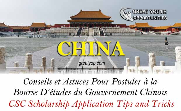 CSC Scholarship Application Tips and Tricks
