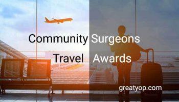 Community Surgeons Travel Awards