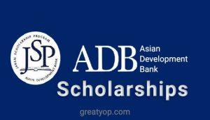 ADB Japan Scholarship Program