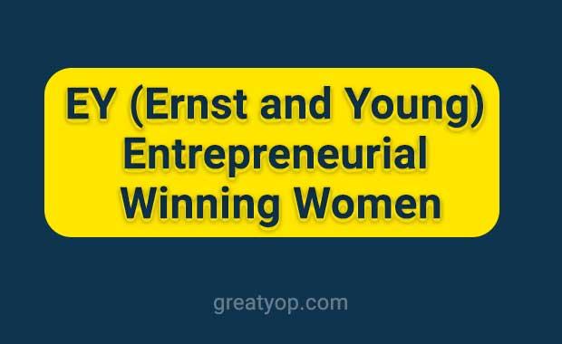 EY Entrepreneurial Winning Women