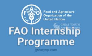 FAO internship program