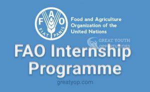FAO internship program
