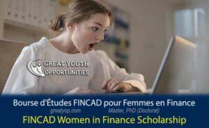 FINCAD Women in Finance Scholarship
