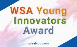 WSA Young Innovators Award