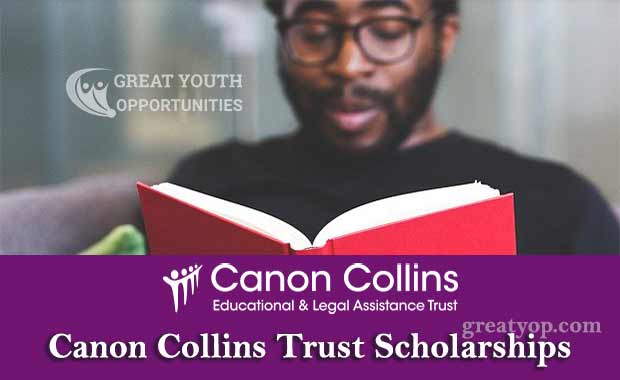 Canon Collins Trust Scholarships