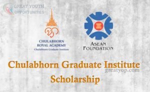 Scholarships for ASEAN Students at Chulabhorn Graduate Institute