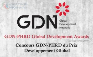GDN-PHRD Global Development Awards