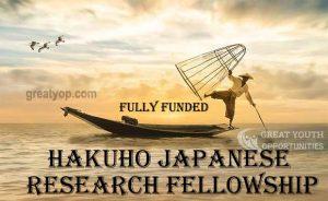 Hakuho Japanese Research Fellowship