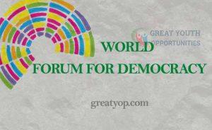 World Forum for Democracy