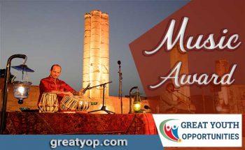 music award and grant