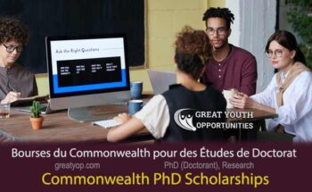 Commonwealth PhD Scholarships for Least Developed Countries