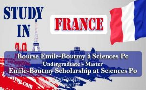 Emile-Boutmy Scholarship at Sciences Po