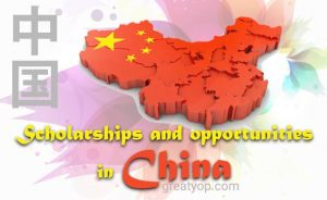 Scholarships and opportunities in China