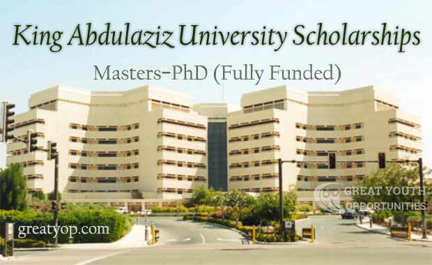 King Abdulaziz University Scholarships