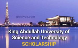 King Abdullah University of Science and Technology Scholarship