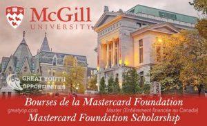 Mastercard Foundation Scholars Program at McGill