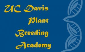 UC Davis Plant Breeding Academy