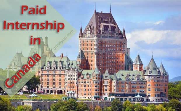 Internship in Canada