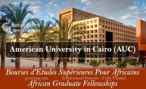 African Graduate Fellowships at the American University in Cairo