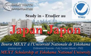 Japanese Government Scholarship MEXT at Yokohama National University