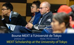 MEXT Scholarship at the University of Tokyo