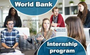 World Bank Summer Winter Internship