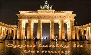 Opportunity in Germany