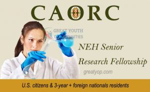 CAORC NEH Senior Research Fellowship