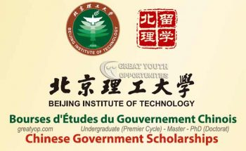 Chinese Government Scholarship at the Beijing Institute of Technology