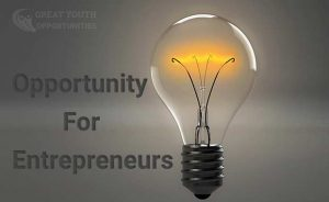 Entrepreneurs Opportunity