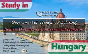 Government of Hungary Stipendium Hungaricum Scholarship