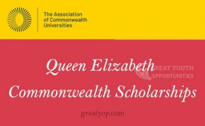 Queen Elizabeth Commonwealth Scholarship