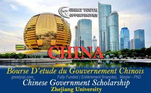 Chinese Government Scholarship at Zhejiang University