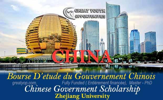 Chinese Government Scholarship at Zhejiang University